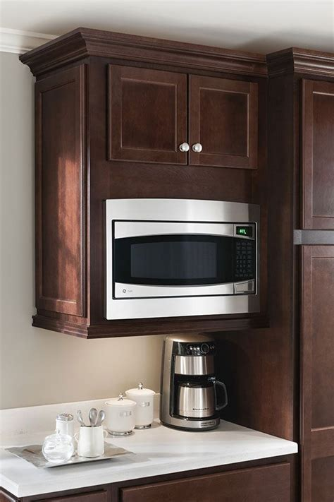 Using Kitchen Microwave Cabinet With Technology  Kitchen