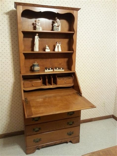 ethan allen desk with hutch discoverstuff