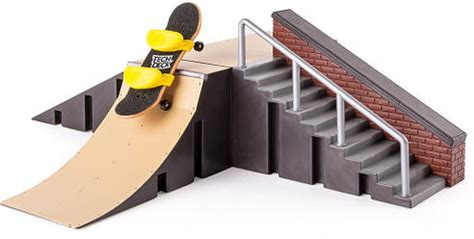 r set and board tech deck starter kit pipe rails wall