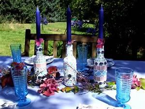 Basteln Mit Mosaiksteinen : hortensienfarbene mosaik vasen meriseimorion ~ Whattoseeinmadrid.com Haus und Dekorationen