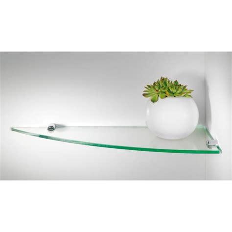 etagere d angle en verre pour
