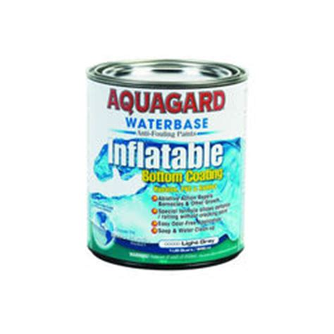 Inflatable Boat Antifouling Paint by Aquagard Inflatable Bottom Paint
