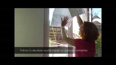 comment poser un sticker d 233 poli sur une vitre pose de stickers muraux gali