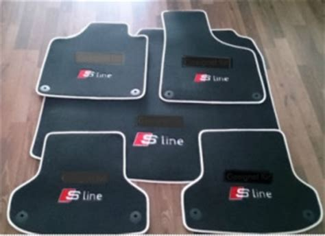 tapis de sol audi a3 sportback s line
