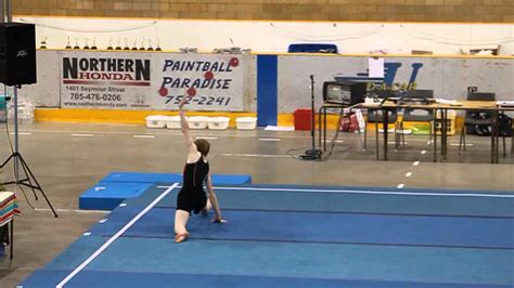 s gymnastics floor routine level 4