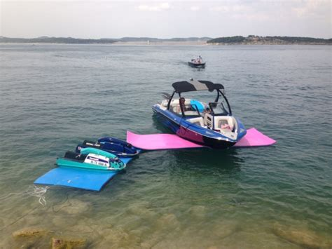 Pull Behind Boat Floats by Ifloats Sales Rentals Canyon Lake Texas