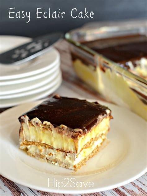eclair cake recipe dishmaps