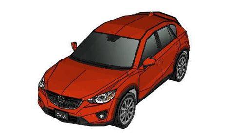 Mazda Cx-5 Paper Car Ver2 Free Vehicle Paper