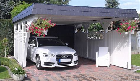 Individuelle Carports Aus Holz  Qualität Made In Germany