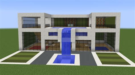 Minecraft  How To Build A Modern House 11  Get Link Youtube