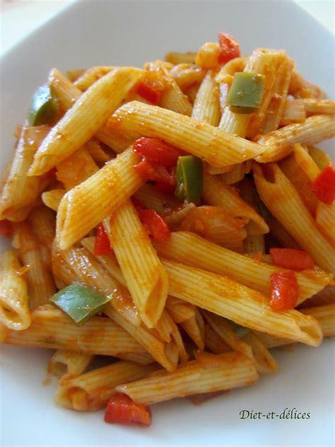 salade de p 226 tes aux poivrons et coulis de tomates diet d 233 lices recettes diet 233 tiques