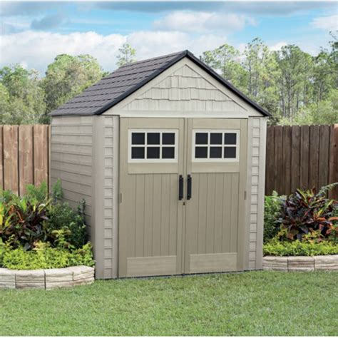 rubbermaid 7x7 storage shed by rubbermaid at mills fleet farm