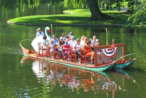 Swan Boats Boston Public Garden by Boston Swan Boats Top Public Garden Attraction