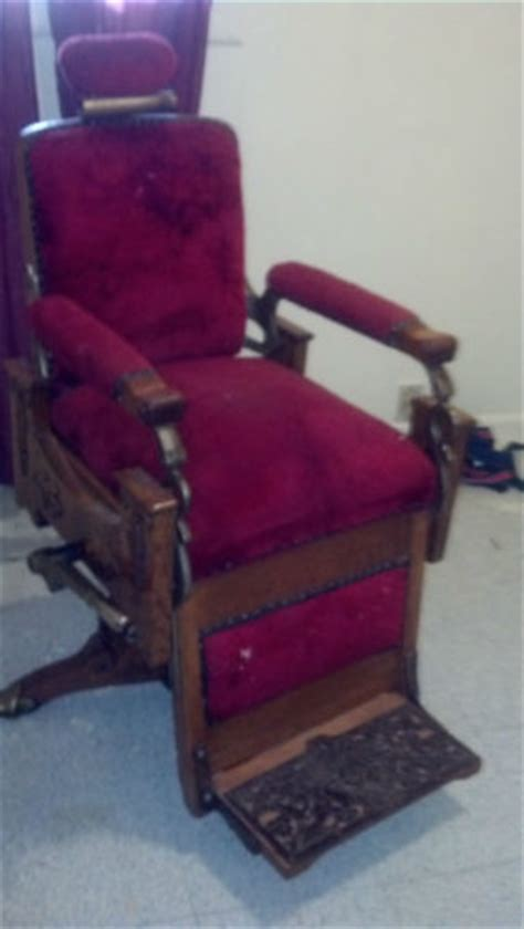 early 1900 koken barber chair