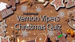 Vipers 2nd Annual Christmas Quiz – Hockeytube.net
