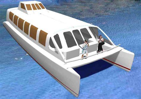 Catamaran Ferry Safety by Kurt Hughes Multihull Design Catamarans And Trimarans