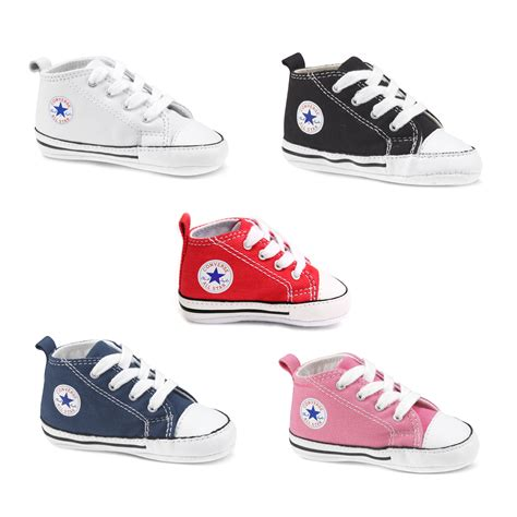 baby converse crib shoes converse all infant baby crib trainer ebay
