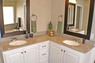 l shaped bathroom vanity sinks master bath