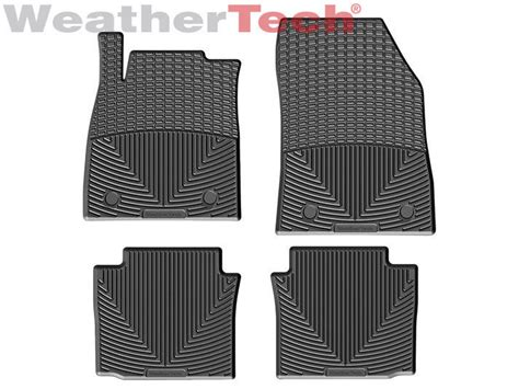 weathertech 174 all weather floor mats for chevrolet impala