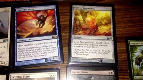 5 color sliver deck magic the gathering set 2014