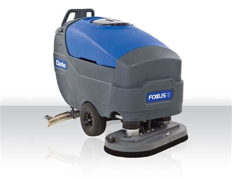 industrial floor scrubber walk auto scrubber focus ii large