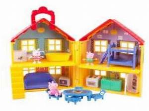 Peppa Pig Peppa's Deluxe House Play Set with 3 Figures 88