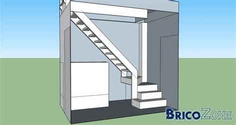 r 233 alisation escalier quart tournant avec contraintes