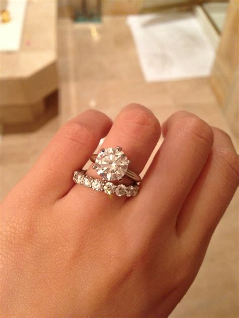 Tiffanys 3 Carat Diamond Ring  Wedding, Promise, Diamond. Tapered Baguette Rings. Zuni Engagement Rings. Front Rings. Love Vera Wang Collection Wedding Rings. Northern Rings. Extra Wedding Rings. Octagonal Engagement Rings. Purple Stone Wedding Rings