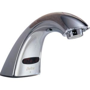 delta commercial battery powered touchless lavatory faucet