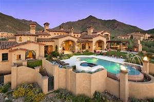 Newly Built Spanish Colonial Estate In Scottsdale, AZ ...