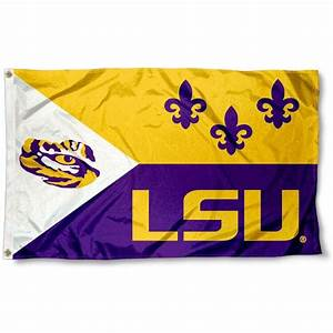 LSU Tigers Acadian Flag and Death Valley Flag for ...