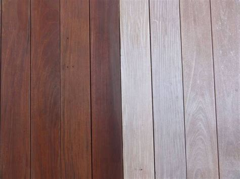 defy deck stain for hardwoods in light walnut on an ipe deck wood decks stained with defy deck