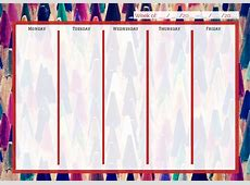 Free Printable Calendars for Teachers & Students