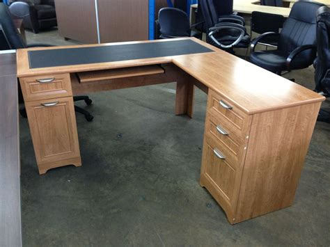 scratch dent l shaped outlet desk 60 quot wide x 60 quot x