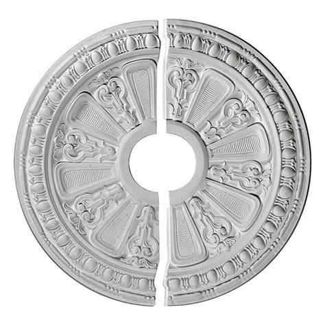 ekena millwork cm17ra2 17 5 8 inch od x 3 5 8 inch id x 7 8 inch p raymond ceiling medallion