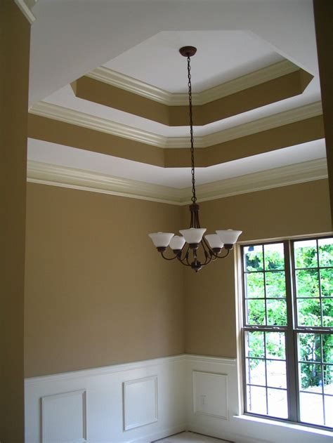 tray ceiling with crown moulding paint trays moldings and tray ceilings