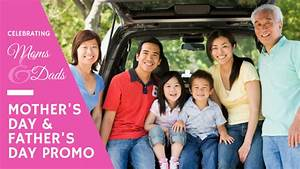 Celebrating Mothers & Fathers—special rates for you ...