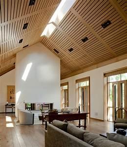 Moderne Holzdecken Beispiele : moderne deckengestaltung 83 schlaf wohnzimmer ideen ~ Markanthonyermac.com Haus und Dekorationen