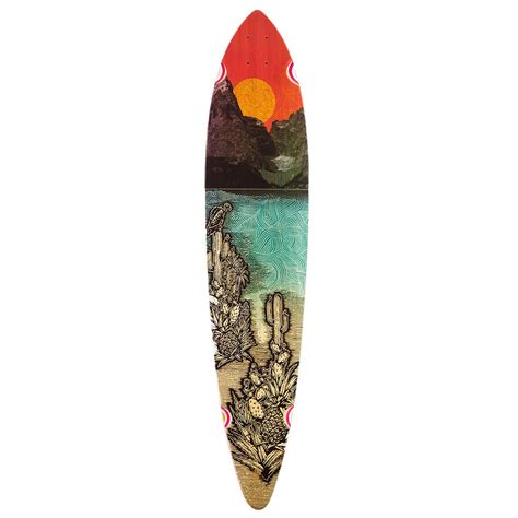globe pintail bamboo longboard deck climate change