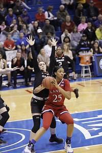 KU women's basketball vs. Texas Tech / LJWorld.com
