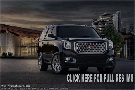 2019 Gmc Yukon Redesign And Changes  2019 Auto Suv