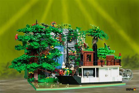 [MOC] Johny Thunder And The Amazon Temple  LEGO Action