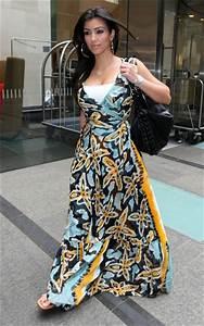 Kim Kardashian and Diane von Furstenberg Maupti Maxi Dress ...