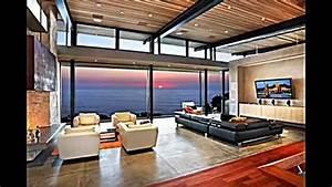Moderne Holzdecken Beispiele : wohnzimmer decken gestalten den raum in neuem licht erscheinen lassen youtube ~ Markanthonyermac.com Haus und Dekorationen