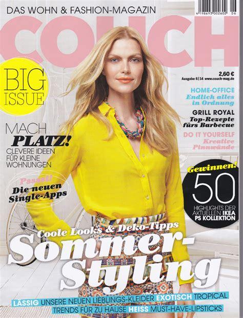 Schöner Leben Im Aktuellen Couchmagazin