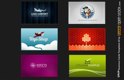 12 Business Card Vector Free Download Images
