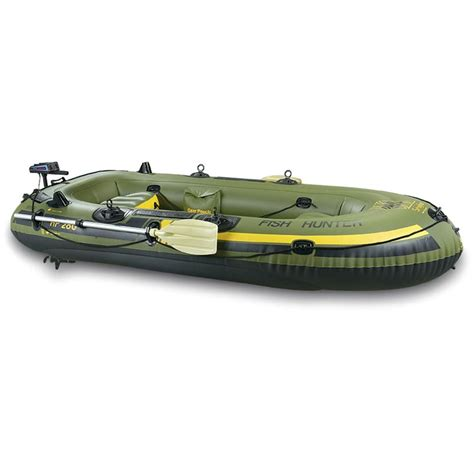 Inflatable Boat With Motor by Sevylor 174 Fishing Hunting Inflatable Boat Package With