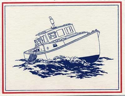 Lobster Boat Art by Lobster Boat Drawing Www Pixshark Images Galleries