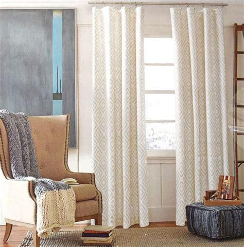 hilfiger lake ivory beige 2pc window curtain panels 96 quot pair aztec lakes aztec
