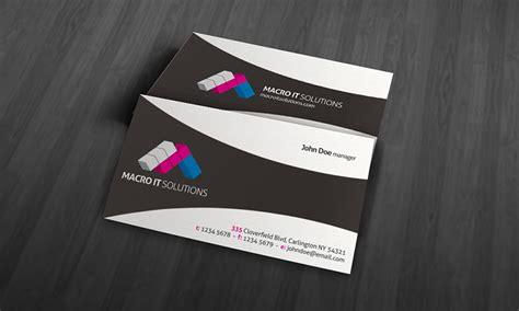 Creative & Unique Corporate Business Card Template » Free